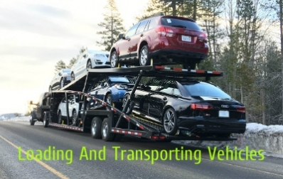Loading And Transporting Vehicles Through Car Trailer Hauler