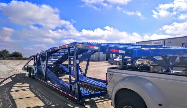 Car Ramps For Sale >> GNW500: 50ft 5 Car Hauler Trailer For Sale | Infinity Trailers