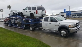 GN500, 50'ft 5 Car Hauler Trailer Sale | Infinity Trailers