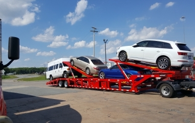 A Step by Step Guide On Loading a Car Safely Onto a Car Hauler Trailer