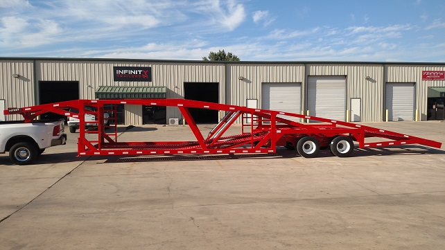 Gnw500 50ft 5 Car Hauler Trailer For Sale Infinity Trailers