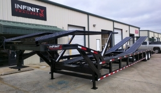 Used Kaufman Two Car Trailer For Sale