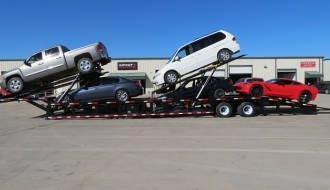 Car Over Cab Trailer